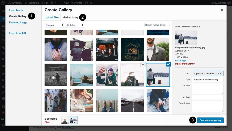 create-gallery