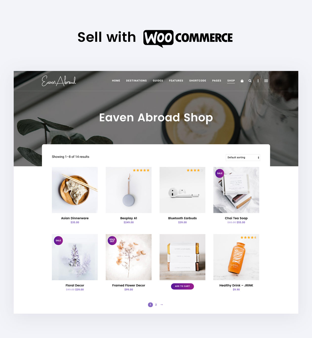 Support WooCommerce